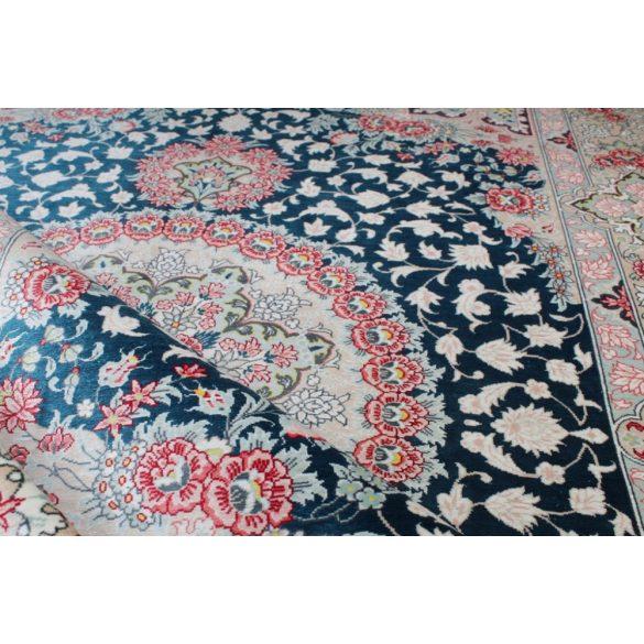 Selyem szőnyeg Ghom 102 X 153  kézi csomózású perzsa selyem  szőnyeg