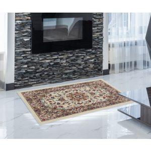 Gépi Perzsa szőnyeg Medalion cream 60x90 (Premium) klasszikus perzsa szőnyeg
