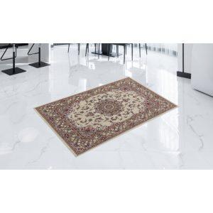 Gépi Perzsa szőnyeg Medalion cream 80x120 (Premium) klasszikus perzsa szőnyeg