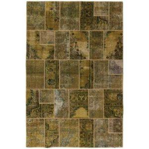 Gyapjú szőnyeg Patchwork 199x298 kézi csomózású szőnyeg