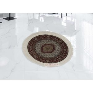 Kerek szőnyeg Mahi cream 100x100 (Premium) perzsa szőnyeg