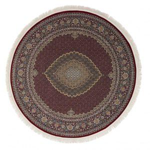 Kerek szőnyeg Mahi red 200x200 (Premium) perzsa szőnyeg