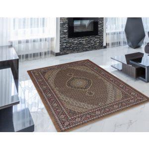 Gépi Perzsa szőnyeg Mahi brown 140x200 (Premium) klasszikus perzsa szőnyeg