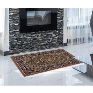 Gépi Perzsa szőnyeg Mahi brown 60x90 (Premium) klasszikus perzsa szőnyeg