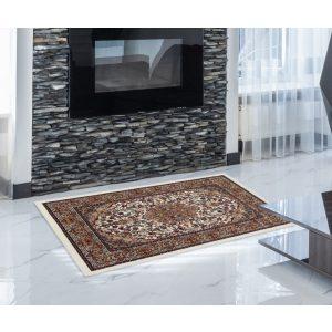 Gépi Perzsa szőnyeg Medalion 60x90 (Premium) klasszikus perzsa szőnyeg