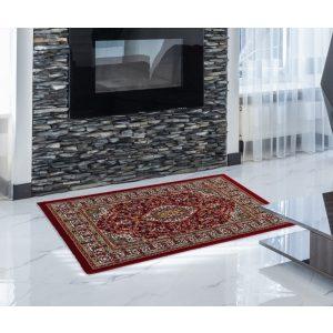 Gépi Perzsa szőnyeg Medalion red 60x90 (Premium) klasszikus perzsa szőnyeg