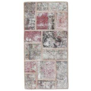 Gyapjú szőnyeg Patchwork 70x140 kézi csomózású szőnyeg
