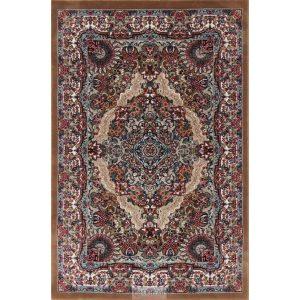 Gépi Perzsa szőnyeg Medalion brown 160x230 (Premium) klasszikus perzsa szőnyeg
