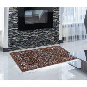 Gépi Perzsa szőnyeg Medalion brown 60x90 (Premium) klasszikus perzsa szőnyeg