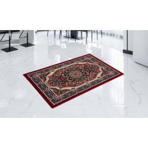 Gépi Perzsa szőnyeg Medalion red 80x120 (Premium) klasszikus perzsa szőnyeg