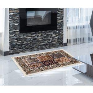 Gépi Perzsa szőnyeg Kheshti cream 60x90 (Premium) klasszikus perzsa szőnyeg