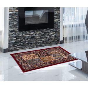 Gépi Perzsa szőnyeg Kheshti red 60x90 (Premium) klasszikus perzsa szőnyeg