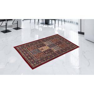 Gépi Perzsa szőnyeg Kheshti red 80x120 (Premium) klasszikus perzsa szőnyeg