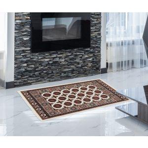 Gépi Perzsa szőnyeg Bokhara cream 60x90 (Premium) klasszikus perzsa szőnyeg