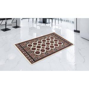 Gépi Perzsa szőnyeg Bokhara cream 80x120 (Premium) klasszikus perzsa szőnyeg
