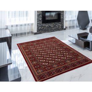 Gépi Perzsa szőnyeg Bokhara red 140x200 (Premium) klasszikus perzsa szőnyeg