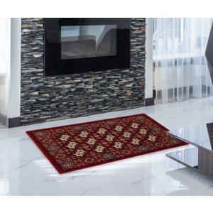 Gépi Perzsa szőnyeg Bokhara red 60x90 (Premium) klasszikus perzsa szőnyeg