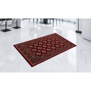 Gépi Perzsa szőnyeg Bokhara red 80x120 (Premium) klasszikus perzsa szőnyeg