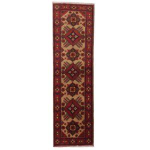 Futószőnyeg Kargai (Caucasian) 82x291 kézi csomózású gyapjú szőnyeg