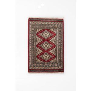Gyapjú szőnyeg Jaldar 94x63 kézi csomózású nappali szőnyeg